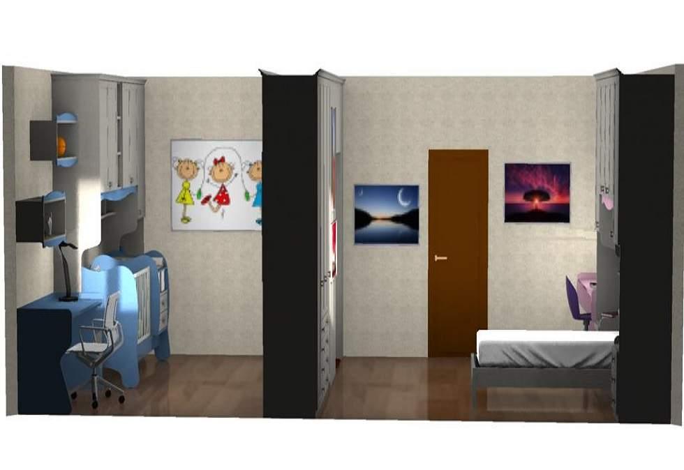 camera-classica-per-2-figli-roma
