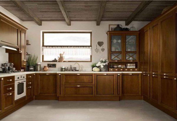 cucina-classica-angolare-roma
