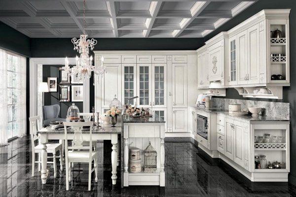 cucina-classica-legno-roma