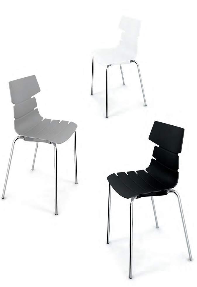 Sedie In Polipropilene Colorate.Sedie In Polipropilene Roma Roma Arredamenti