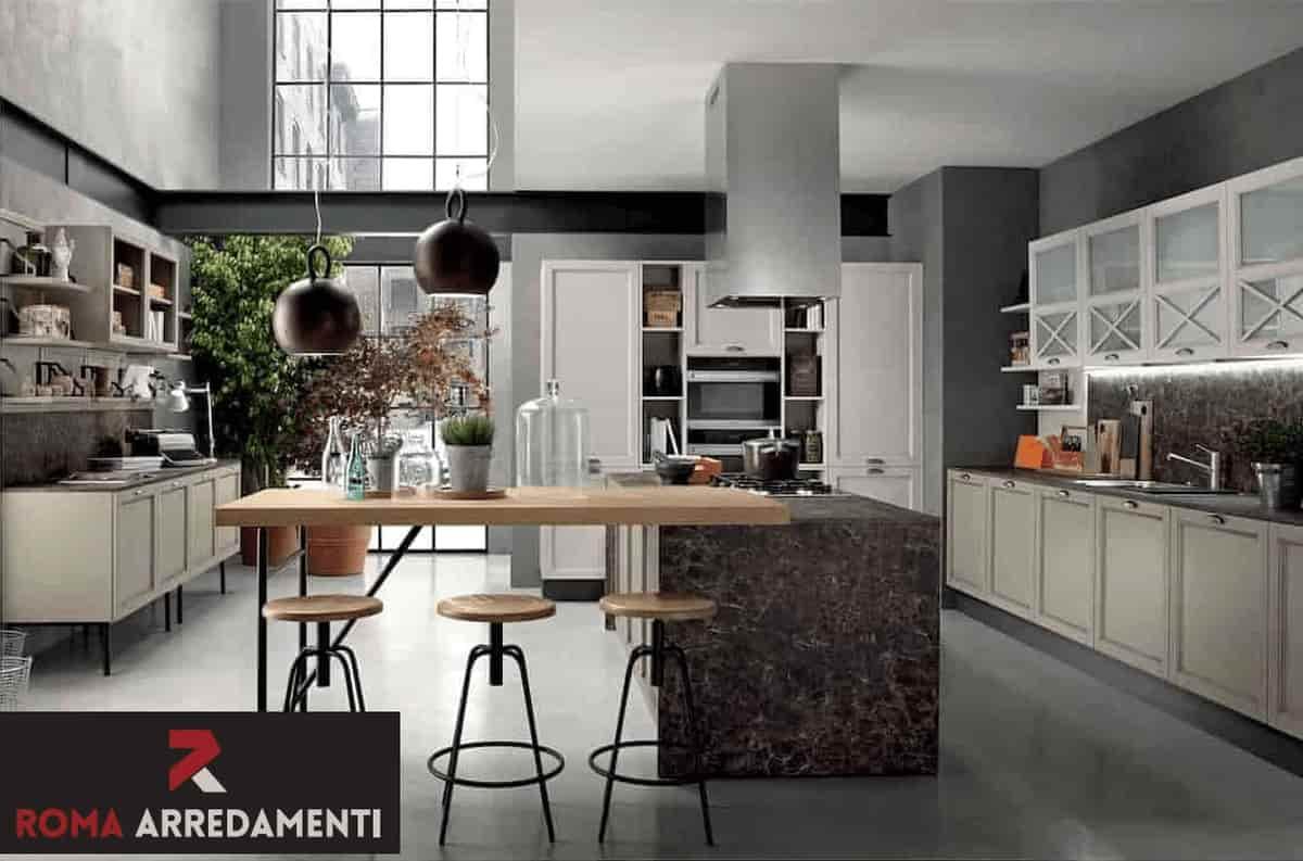 Unico Ambiente Cucina Soggiorno cucina con soggiorno roma | roma arredamenti