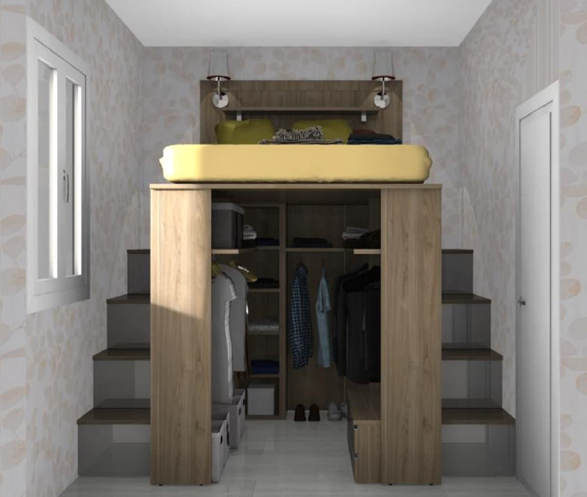 camera piccolissima roma